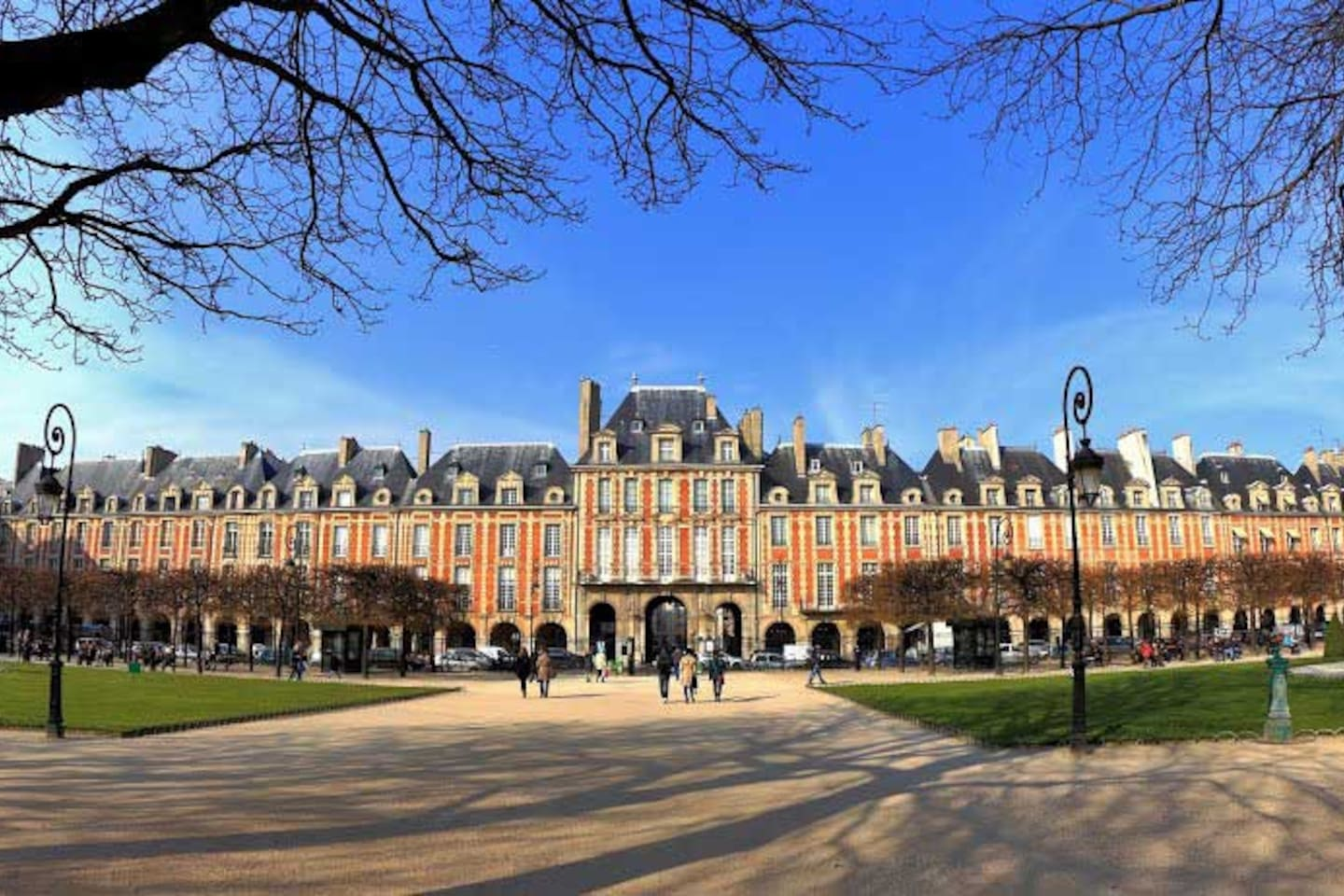 Just steps away from place de vosges