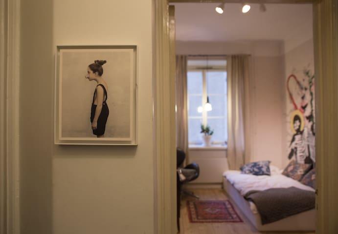A cozy apartment at Hornstull, Södermalm