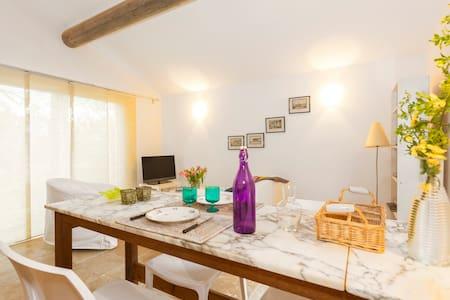 gîte indépendant - Castillon-du-Gard - Ház