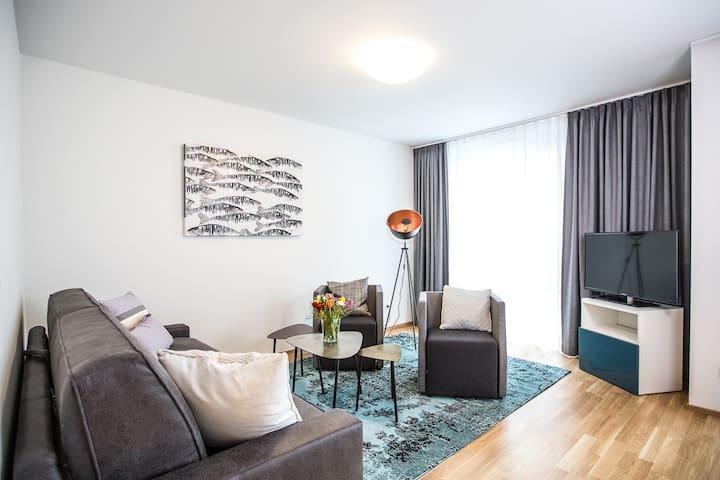 """Komfortable Neubau Ferienwohnung """"Säntis"""""""