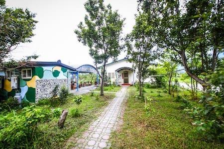 水田屋民宿 ∷ 南澳留宿 ∷ 田間活動 ∷ 場地租借 ∷ 歡樂露營 (兩人套房/涵管特色房) - Nan'ao Township - Minsu (Taiwan)