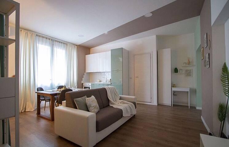 Nuovo monolocale 40 mq centro quartiere Niguarda