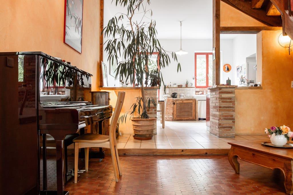 2 chambres ds maison de charme sdb privative houses for