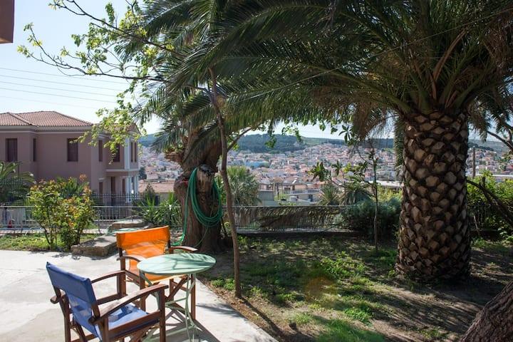 Stylish apartment w/garden Mytilene