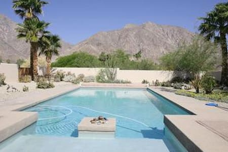 Oasis at the Foot of Indian Head - Borrego Springs