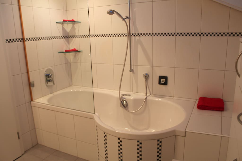 one bathroom coming with the offer.. ideal if you like bubbles with bubbles..