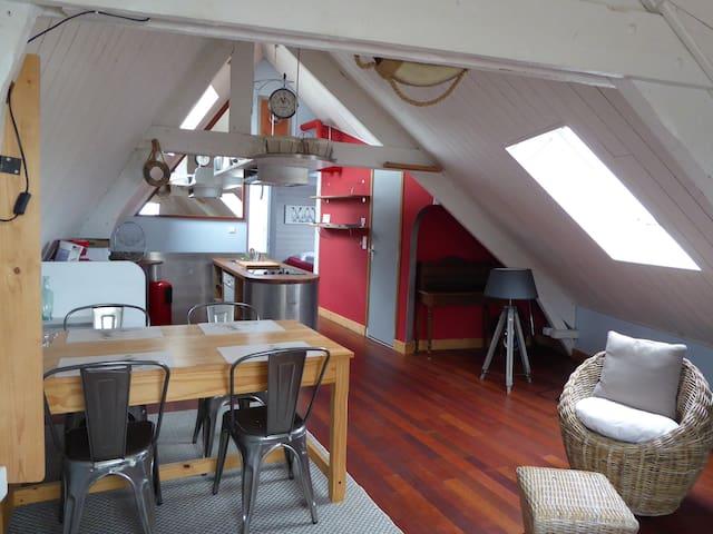 """les logis du port, appartement 3 pièces """"Bateau""""."""