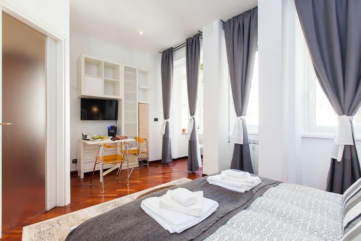B&B Olimpico! TV-Wi-Fi-Tablet - Rome - Bed & Breakfast