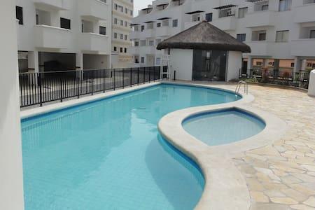Apt Villa da Praia em frente ao mar 2suítes 2vagas