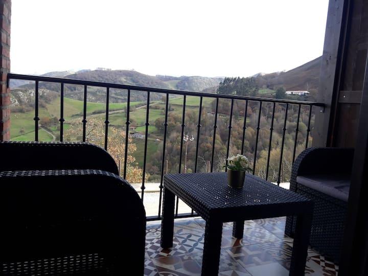 Apartamentos El Llanin(loft con terraza)