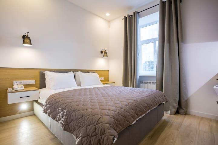 Уютные апартаменты на высоком этаже с видом ID523