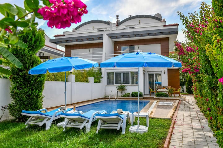 Calis Beach Holiday Villa Rental with Private Pool