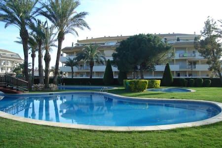 Apartamento con patio. Torrenostra - Torreblanca - Квартира