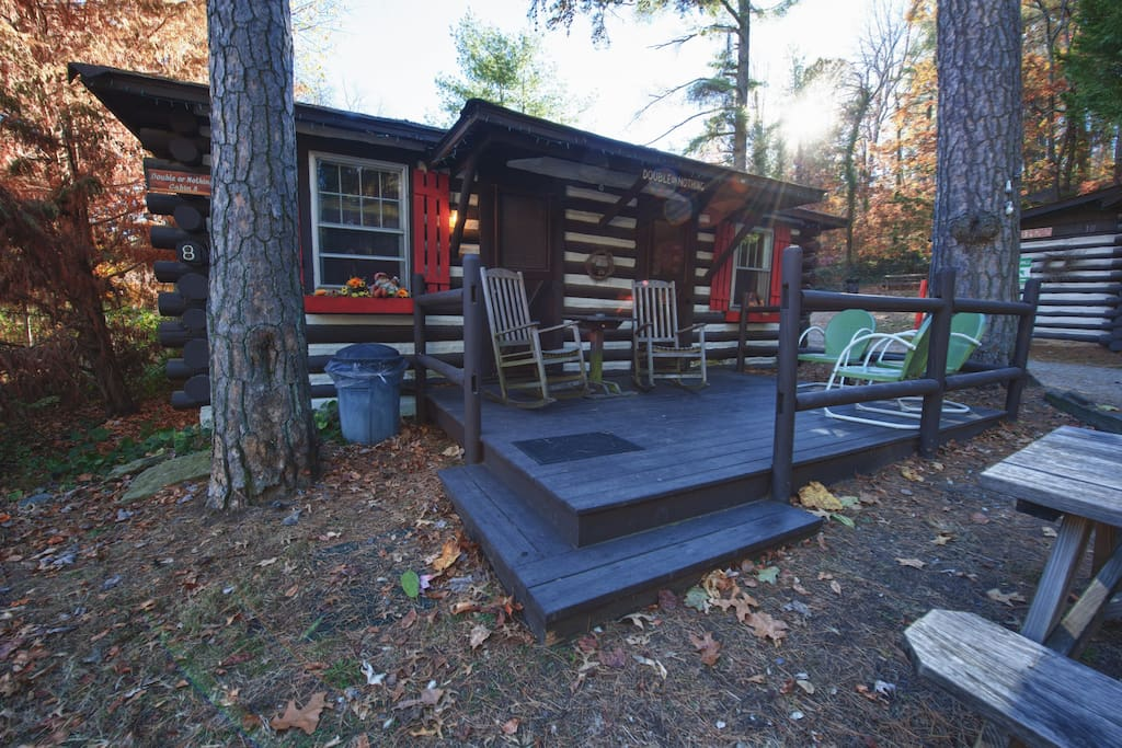 Asheville Historic Log Cabin 8 Double Or Nothing