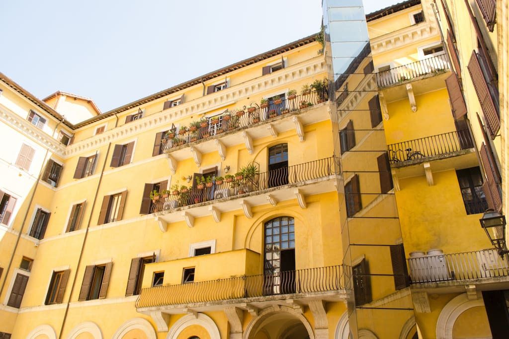 Feel like home in the heart of rome appartements louer for Airbnb roma