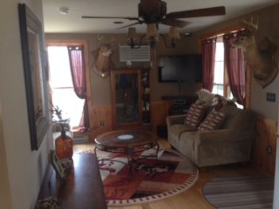 Open 1st Floor Living Room