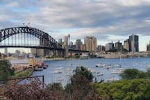 Walk along the water to luna park, less than 5 minutes walk from our apartment to the water