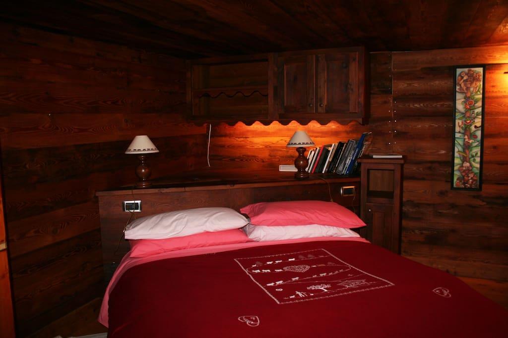 la camera da letto, romantico rifugio...