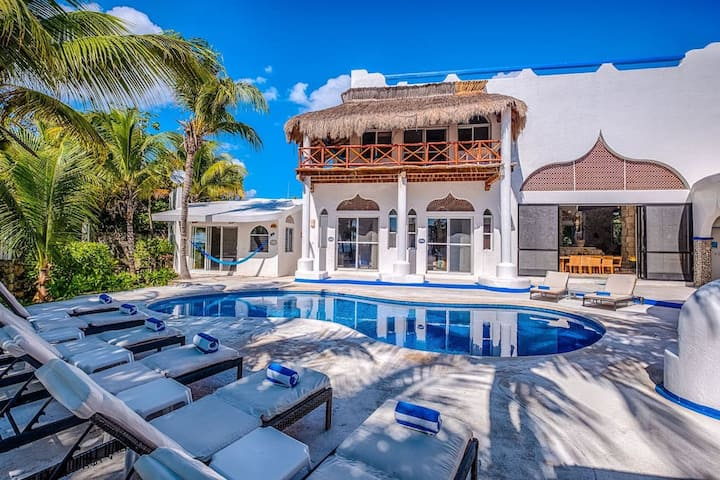 Luxury Akumal Villa