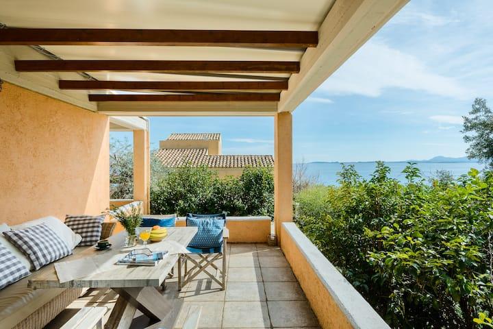 Jackie On The Beach Corfu Retreat