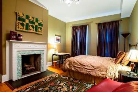 Dupont room; TemPurpedic bed, 3 min 2 metro - Dupont Circle, Washington - House