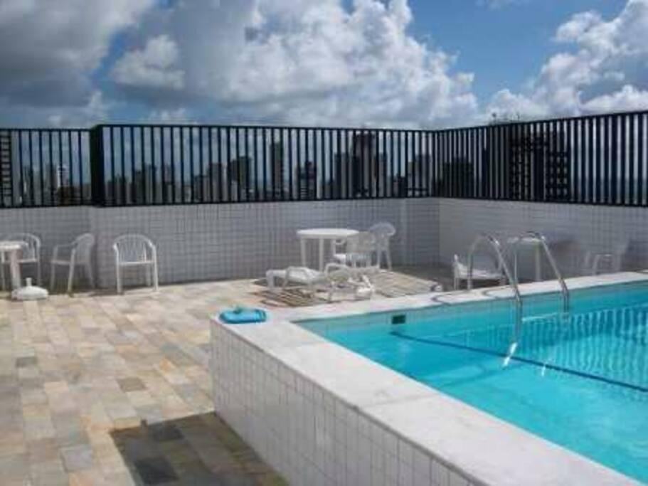 Pool at top floor