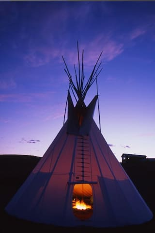 Blackfeet Tipi Village - Browning - Tipi