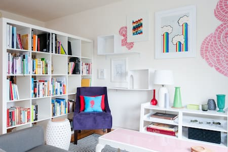 Bright, Art-Filled Private Room