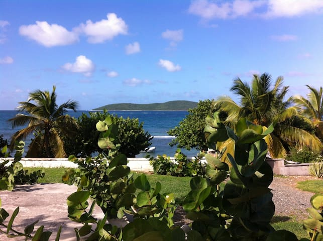Beach front water sport cottage - Christiansted - Cabaña
