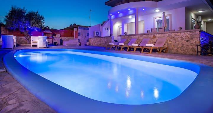 Villa Linda Tsambika Afandou With Private Pool