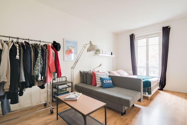 Montmartre - charming studio, perfect for a couple