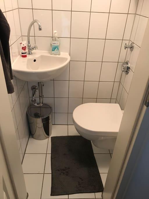 WC, separat