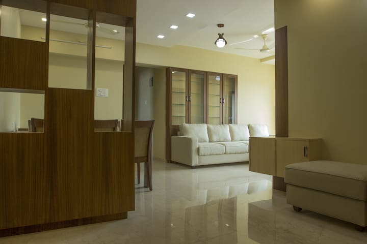 Spacious 3BHK with a Fabulous View at Andheri West