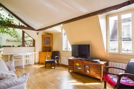 Charme et lumière au Quartier Latin - Paris - Apartment