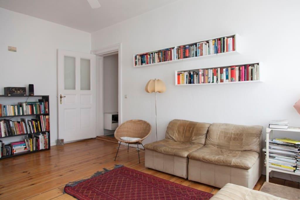 Sunny livingroom