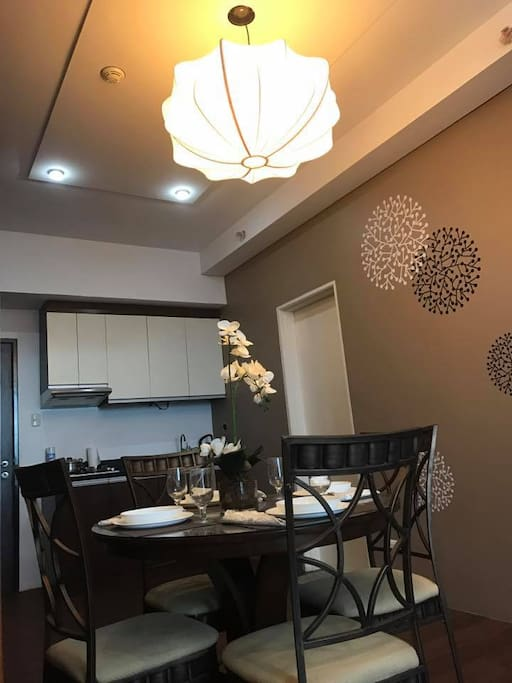 The Dining Area and Mini Kitchen
