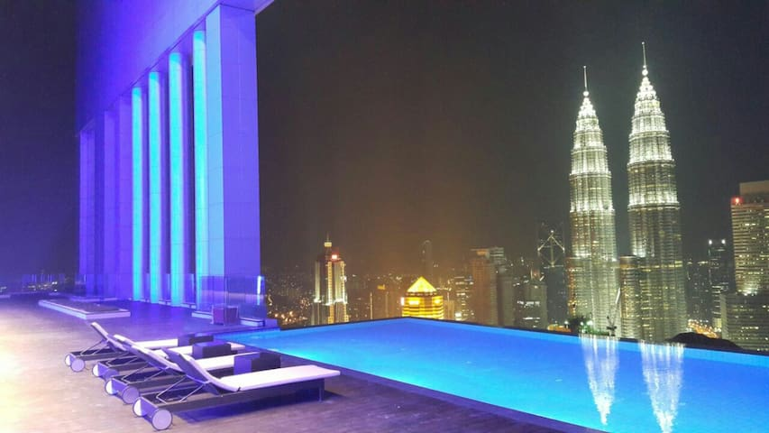 Amazing view in city KLCC view