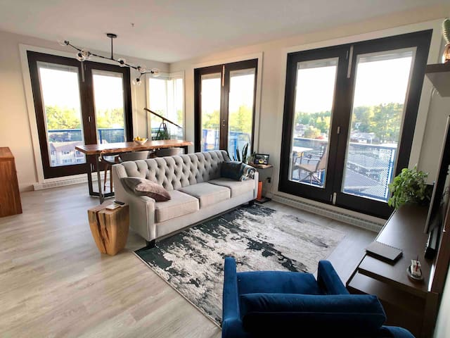 Fully Furnished Lakeview  Penthouse