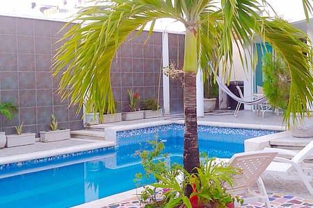 Habitación en Villa Juana Cartagena - La Boquilla