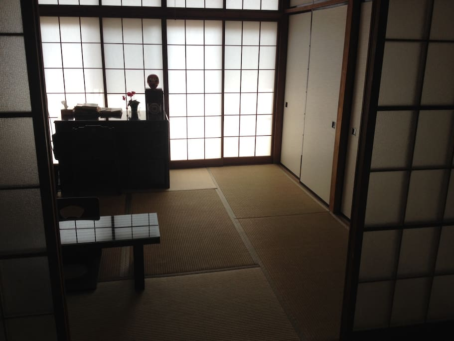 Japanese Room in the City / 仙台駅近の和室