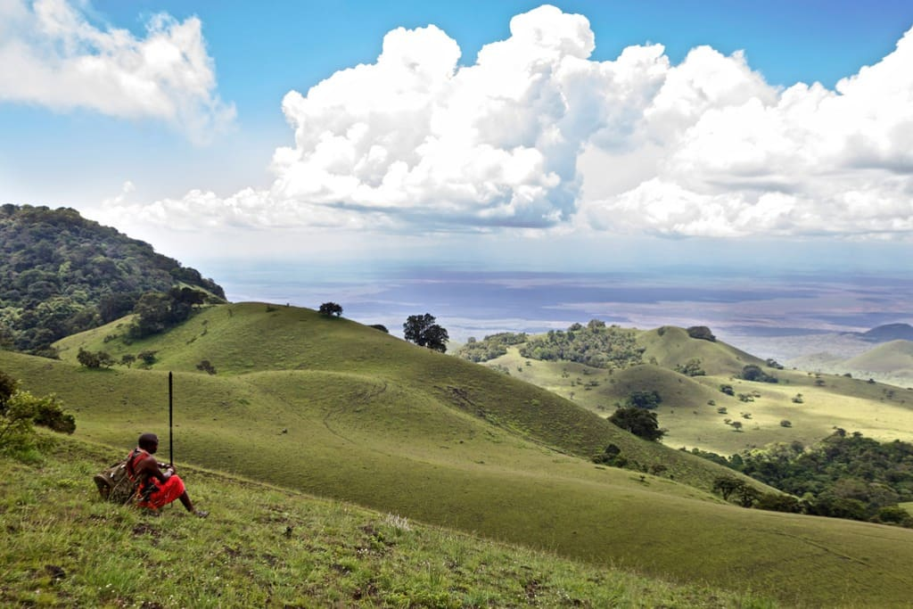 Hiking in the Chyulu Hills - Ernest Hemingways Green Hills of Africa