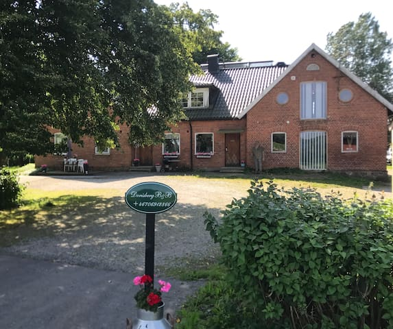Nice house at the countryside close to Lund/Malmö