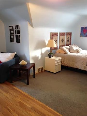 Large Sunny Room w/Outdoor Hot Tub - South Euclid