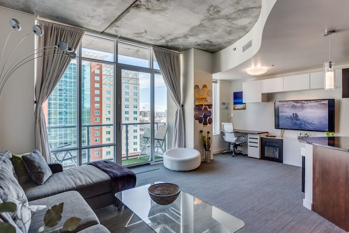 ☀░ Downtown High Rise SPIRE - Furnished 1br ☀