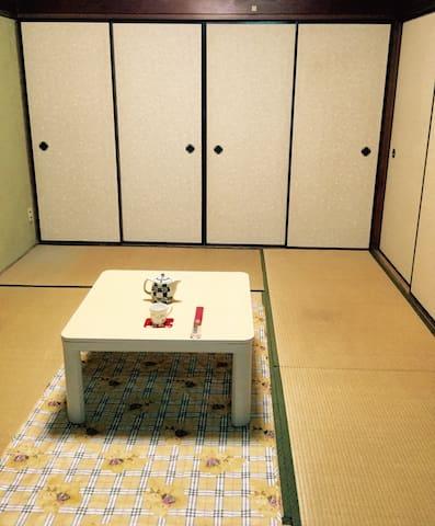日式傳統的榻榻米和室 일본 전통가옥에서 특별한 체험 - โอซาก้า - บ้าน