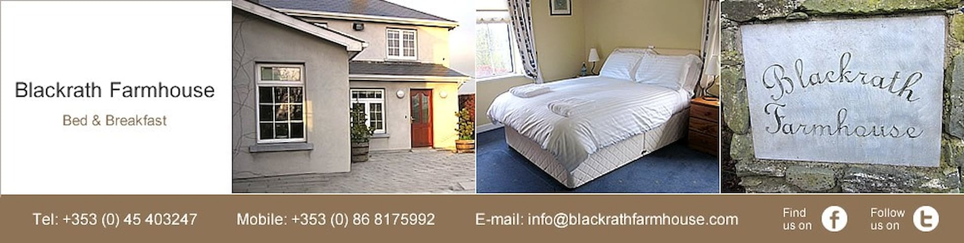 Blackrath Farmhouse Co Kildare - Ballymount Colbinstown - Pousada