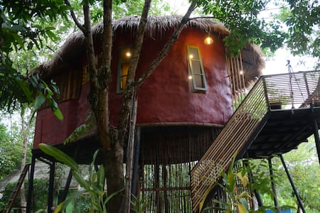Eco-flying little house  - Ko Chang