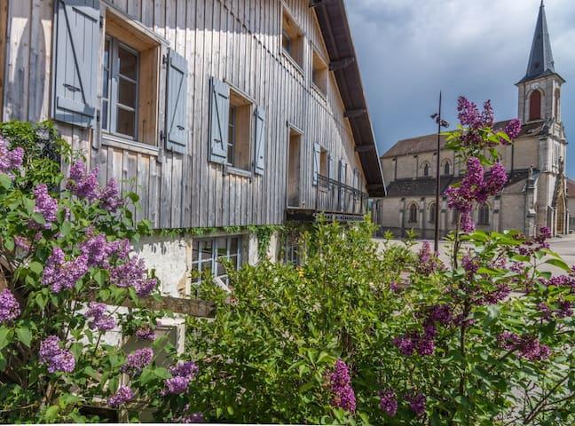 250 ans d'existence, ferme, commerce, hotel restaurant et aujourd'hui gîte et chambres d'hôtes
