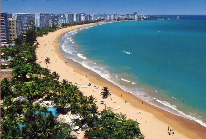 Beach Studio Apt. Isla Verde 20th Floor w/parking