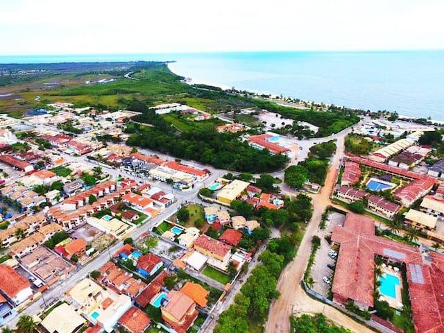 Apartamento na Orla de Porto Seguro, Bahia. - Porto Seguro - Leilighet